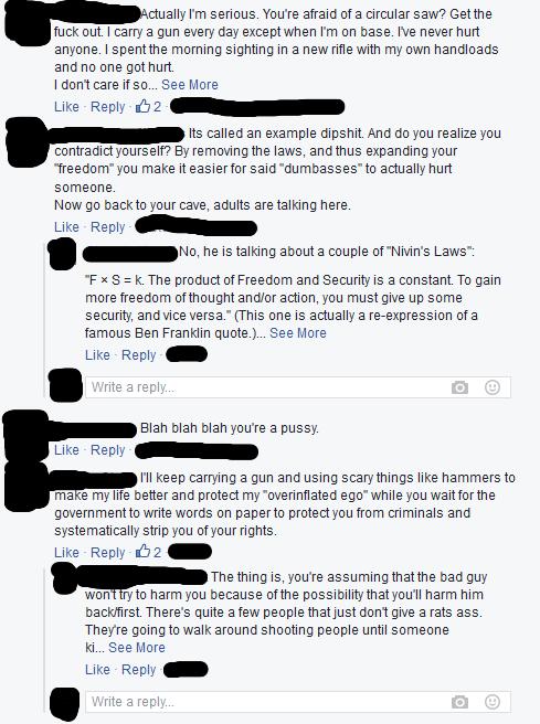 Facebook Conversation 3 redacted